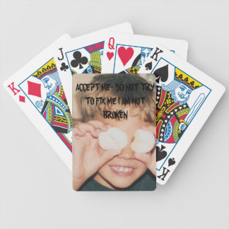 AUTISM SPECTRUM PLAYING CARDS