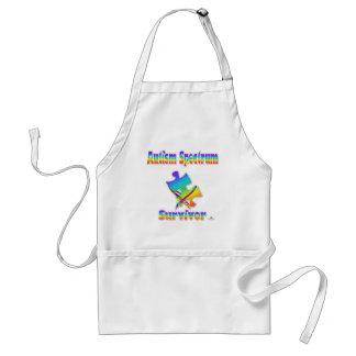 Autism Spectrum Survivor Adult Apron