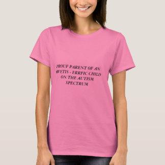Autism spectrum t - shirt for parents