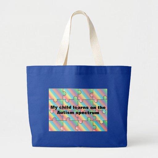Autism Spectrum Tote Bag
