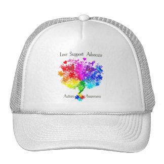 Autism Spectrum Tree Cap