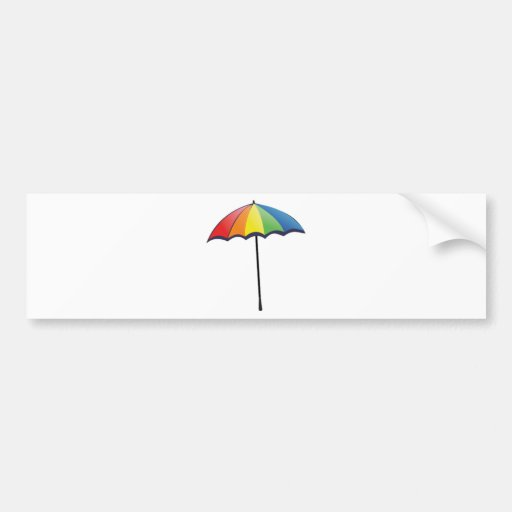 Autism Umbrella Bumper Stickers