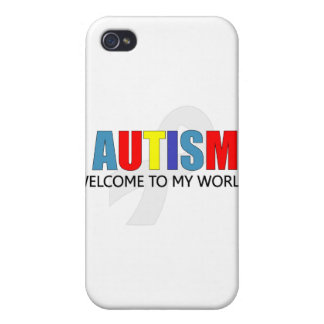 AUTISM WELCOME TO MY WORLD iPhone 4/4S CASE