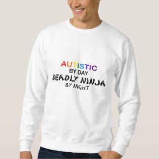 Autistic Deadly Ninja by Night Sweatshirt