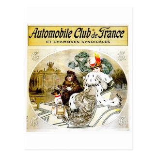 Auto Club Vintage Automobile Advertisement Postcards