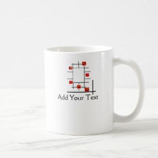 Auto Divergence Basic White Mug