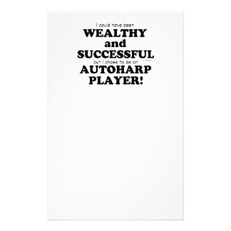 Autoharp Wealthy & Successful Personalized Stationery