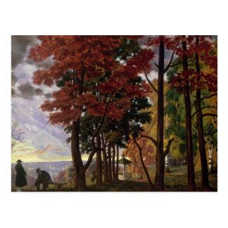 Autumn, 1918 postcard