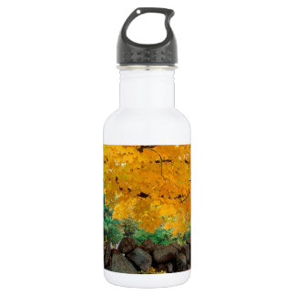 Autumn A Golden Season In New England 532 Ml Water Bottle
