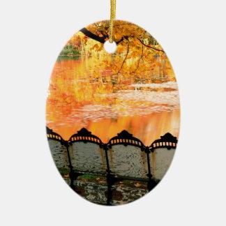Autumn Best Seat In House Louisville Kentucky Christmas Ornament