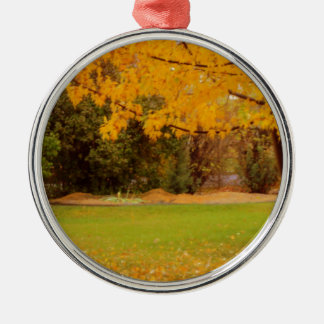 Autumn Colors Christmas Ornament