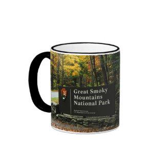Autumn Colors - Gatlinburg Pigeon Forge Smoky Mtns Ringer Mug