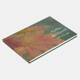Autumn Colors Wedding Guest Book