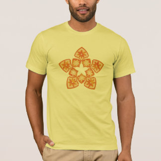 Autumn Decorative Floral Tiles T-Shirt