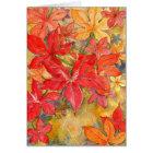 """Autumn Dew"" Card"