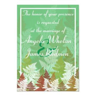 Autumn Fern Grove Card