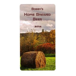 Autumn Harvest Beer Label