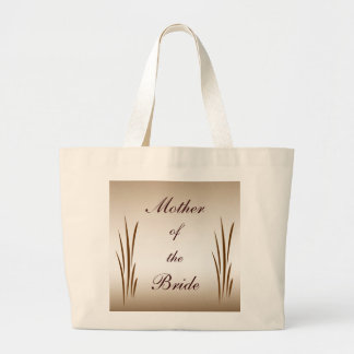 Autumn Harvest Mother of the Bride Large Tote Bag
