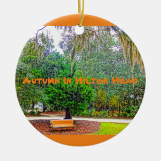 Autumn In Hilton Head Coastal Discovery Museum HHI Christmas Ornament