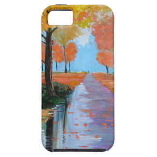 Autumn in the Park Case For The iPhone 5