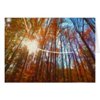 Autumn in Virginia by Shawna Mac Card