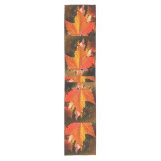 """Autumn Leaf Themed Custom 14"""" X 72"""" Table Runner"""