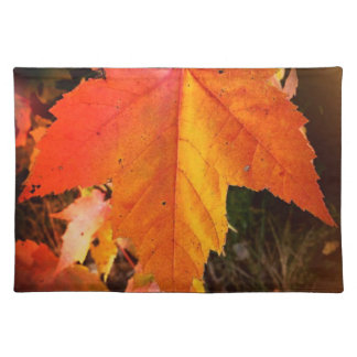 """Autumn Leaf Themed Placemats  20"""" x 14"""""""