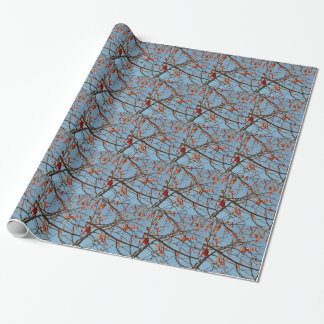 Autumn leafs wrapping paper