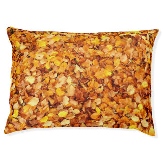 Autumn Leaves Dog Bed