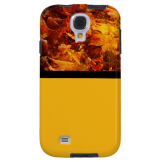 Autumn Leaves in Orange and Yellow Galaxy S4 Case