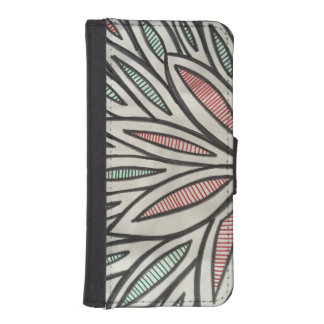 Autumn leaves iPhone SE/5/5s wallet case