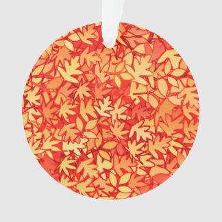 Autumn leaves, orange and gold