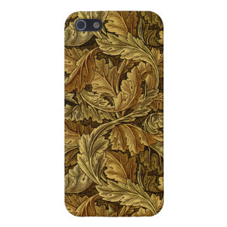 Autumn leaves William Morris pattern iPhone 5 Covers