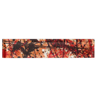 AUTUMN MIX (an abstract art design) ~ Nameplate