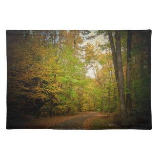Autumn Path Place mat