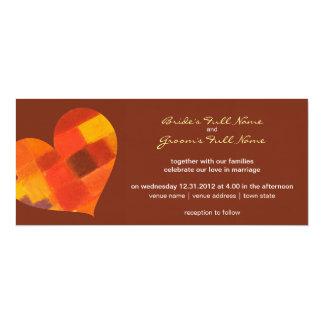 Autumn pueblo Wedding Invitation