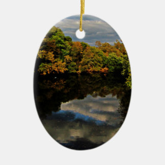 Autumn Reflect Christmas Ornament
