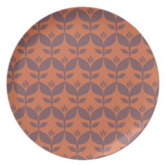 Autumn retro1 party plates