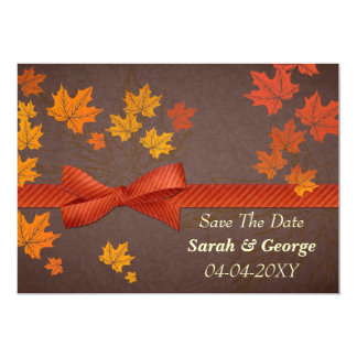 Autumn save the date announcement