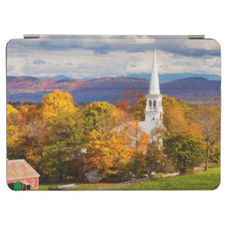 Autumn Scene In Peacham, Vermont, USA iPad Air Cover