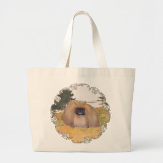 Autumn Shore Large Tote Bag