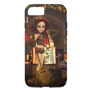 Autumn Spell Witch iPhone 7 Case