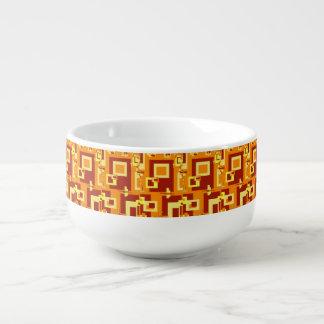 Autumn Spice Design Soup Bowl