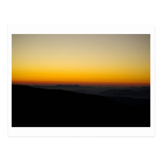 Autumn Sun Rise Postcard