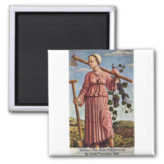Autumn The Muse Polyhymnia Refrigerator Magnets
