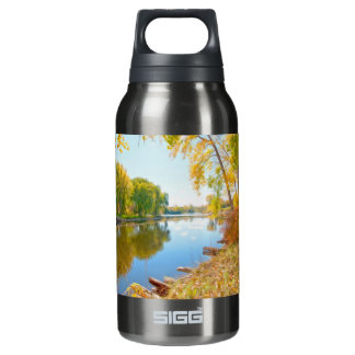 Autumn Tree And River 10 Oz Insulated SIGG Thermos Water Bottle