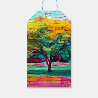 Autumn tree in vivid colors