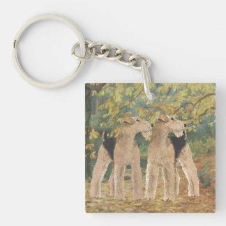Autumn Walk Key Ring