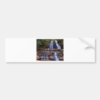 Autumn Waterfall Bumper Stickers