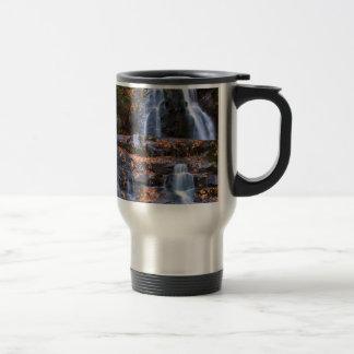 Autumn Waterfall Coffee Mugs